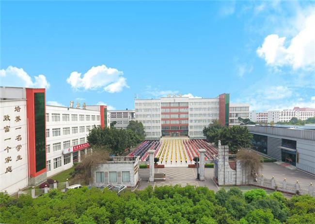 乐山市计算机学校图片,照片「学校环境介绍」